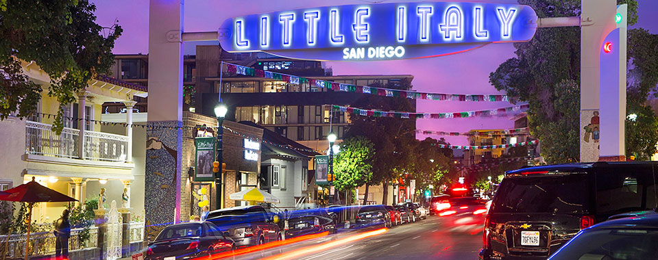 Little Italy in California