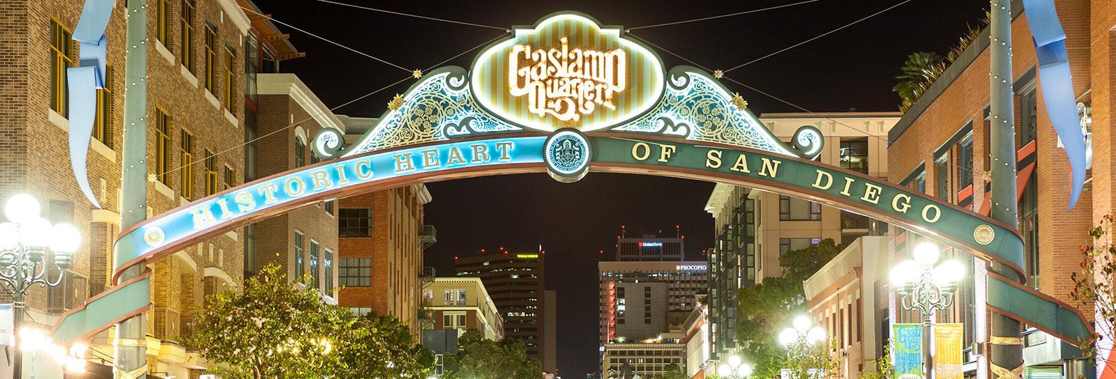 Gaslamp Quarter San Diego, California