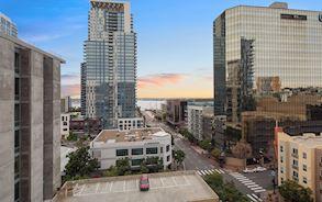 Location of Best Western Plus Bayside Inn San Diego