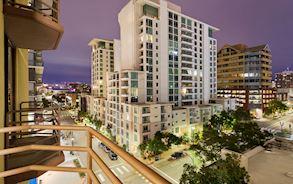 private balconies in Best Western Plus Bayside Inn California